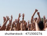 group of happy young people... | Shutterstock . vector #471500276
