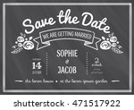 wedding invitation vintage card ...   Shutterstock .eps vector #471517922