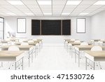 classroom interior in modern... | Shutterstock . vector #471530726