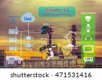 industry 4.0 and smart... | Shutterstock . vector #471531416