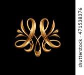 m   monogram letter | Shutterstock .eps vector #471538376