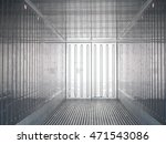 inside container for carrie... | Shutterstock . vector #471543086