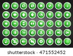 game buttons in cartoon style....   Shutterstock .eps vector #471552452