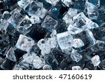 abstract with black ice.... | Shutterstock . vector #47160619