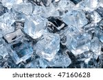 abstract with black ice.... | Shutterstock . vector #47160628