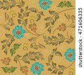 batik sarong pattern background ... | Shutterstock .eps vector #471606335