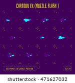 fire sprites or animation... | Shutterstock .eps vector #471627032