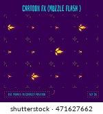 muzzle flash explosion sprites...