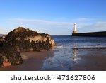 lighthouse in aberdeen  scotland   Shutterstock . vector #471627806
