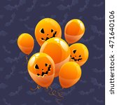 vector balloons colored like... | Shutterstock .eps vector #471640106
