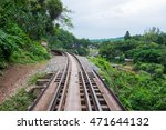 the death railway bridge at... | Shutterstock . vector #471644132
