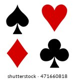 play card icon   vector | Shutterstock .eps vector #471660818