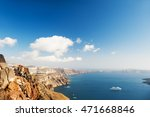 beautiful view of the sea and... | Shutterstock . vector #471668846