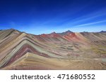 Colored Rainbow Mountain...
