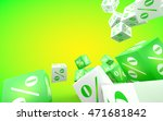 discount concept. green and... | Shutterstock . vector #471681842