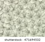frangipani background | Shutterstock . vector #471694532