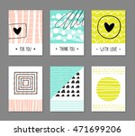 Collection Of Modern Cards Wit...