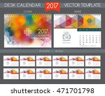 Design Desk Calendar 2017....