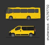 Yellow Bus For The Carriage Of...