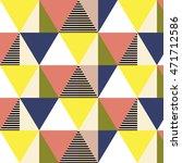 vector geometric background.... | Shutterstock .eps vector #471712586