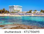 ayia napa  cyprus   august 18 ... | Shutterstock . vector #471750695