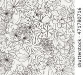 doodle seamless pattern with... | Shutterstock . vector #471780716