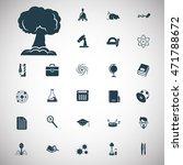 set of twenty seven education... | Shutterstock .eps vector #471788672