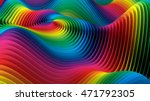 Colorful Background. 3d...