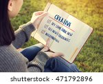 goal explore aim ambition...   Shutterstock . vector #471792896