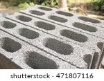 the cement brick block for the... | Shutterstock . vector #471807116