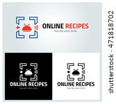 Online Recipes Logo Design...