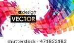 multicolor abstract bright... | Shutterstock .eps vector #471822182