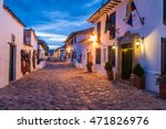 villa de leyva  colombia  ... | Shutterstock . vector #471826976
