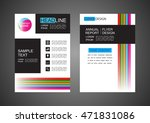 modern flyer design  cover... | Shutterstock .eps vector #471831086