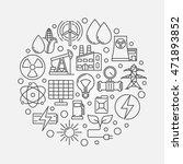 energy concept illustration.... | Shutterstock .eps vector #471893852