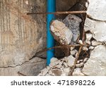 the brick it broke damaged... | Shutterstock . vector #471898226