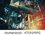 equipment  cables and piping as ... | Shutterstock . vector #471919592