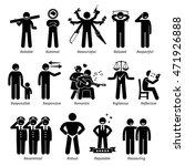 positive personalities... | Shutterstock .eps vector #471926888