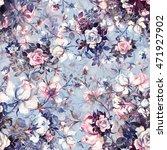 watercolor seamless pattern... | Shutterstock . vector #471927902