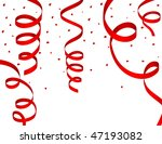 vector of red steamers