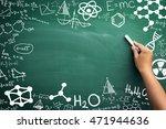 formulas from school classes... | Shutterstock . vector #471944636