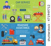 car service and roadside... | Shutterstock .eps vector #471949712