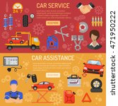 car service and assistance... | Shutterstock .eps vector #471950222