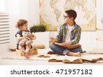 children brother and sister ... | Shutterstock . vector #471957182