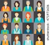 character cartoon of office... | Shutterstock .eps vector #471971636
