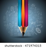 clean infographic layout... | Shutterstock .eps vector #471974315