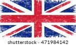 grunge uk flag.british flag... | Shutterstock .eps vector #471984142