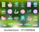 vector health and beauty care... | Shutterstock .eps vector #471989806
