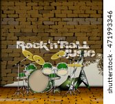 Musical Drum Set And Electric...