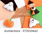 Halloween Cute Felt Diy....